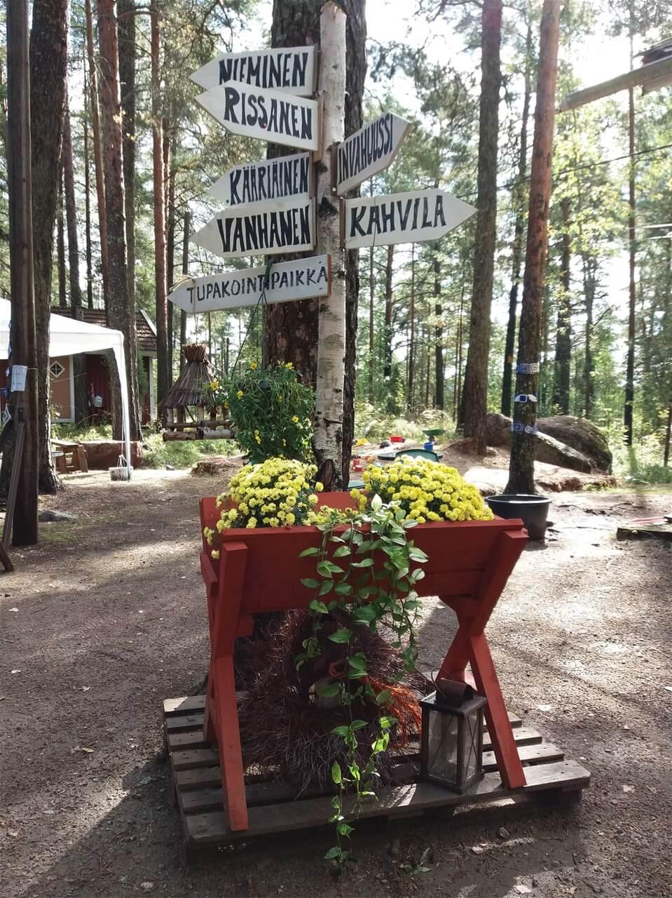 Kettumäen Kansanpuisto kartta